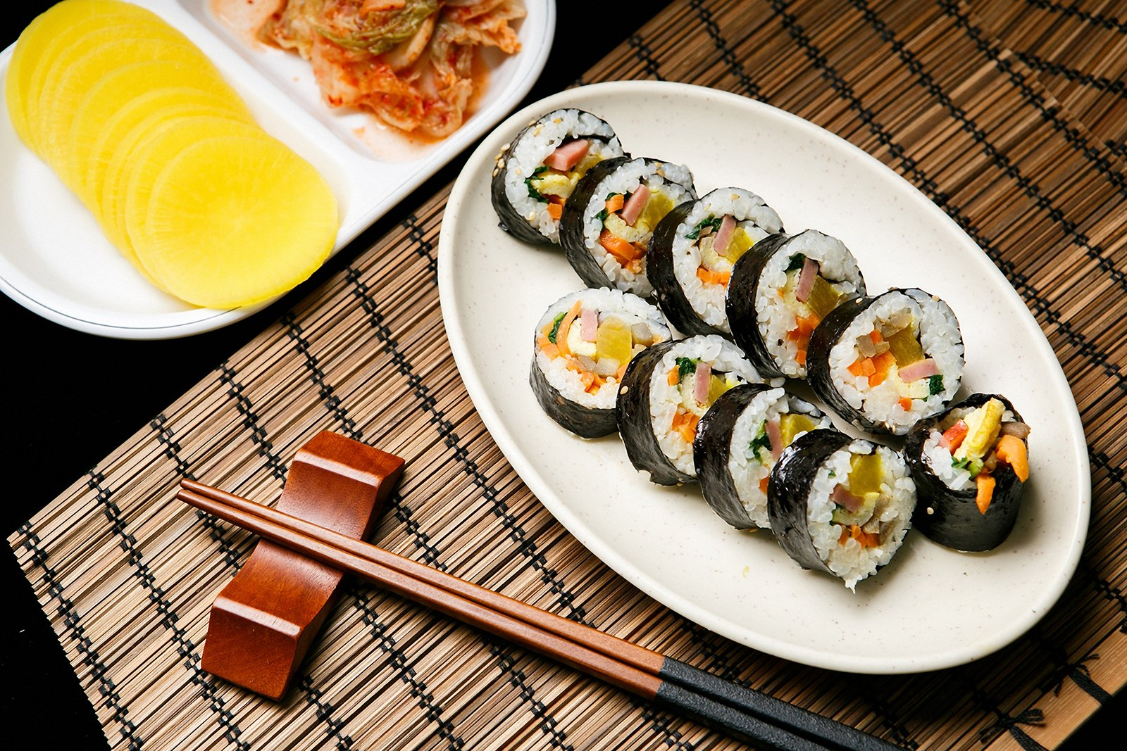 Gimbap – Seaweed rice rolls