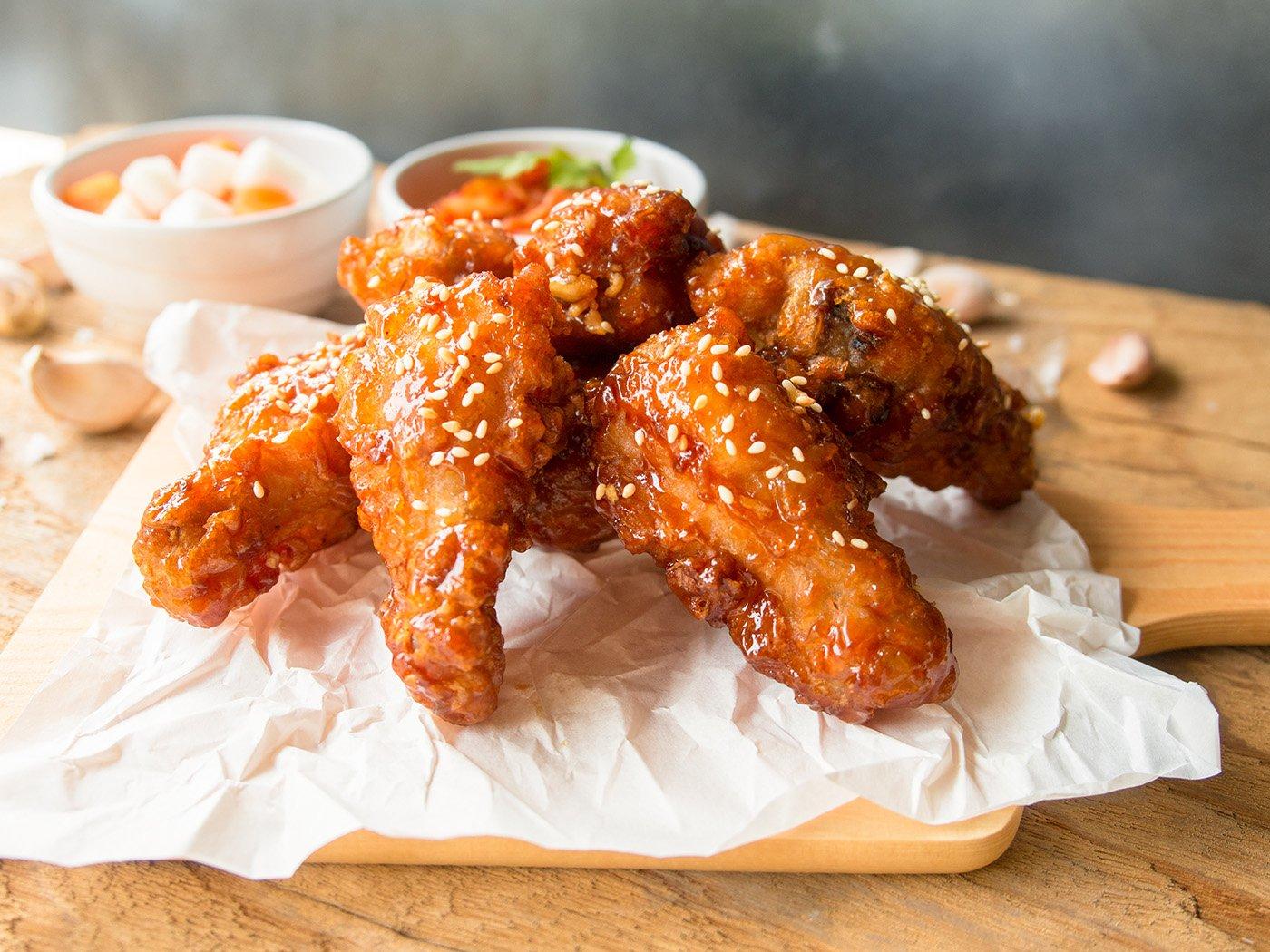 Korean Fried Chicken Is magic